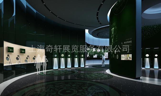 上海展览公司设计漯河博物馆